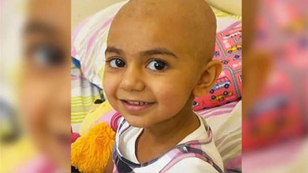 La menor necesita de donaciones de sangre para poder sobrevivir al tratamiento de quimioterapia y atacar el neuroblastoma, un cáncer que ataca las células nerviosas.