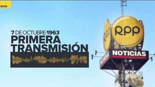 La primera transmisió de RPP fue en 1963,