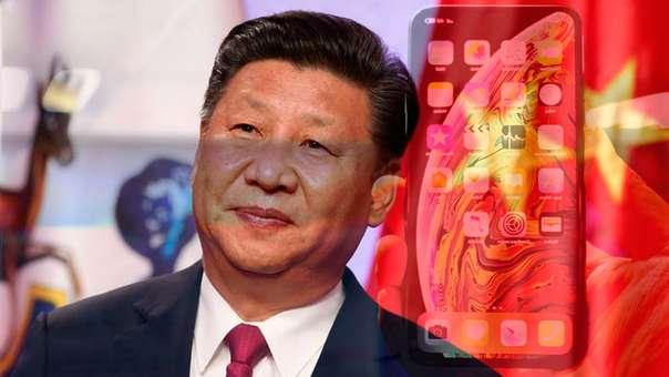 El presidente de China aumenta su presencia en los móviles.