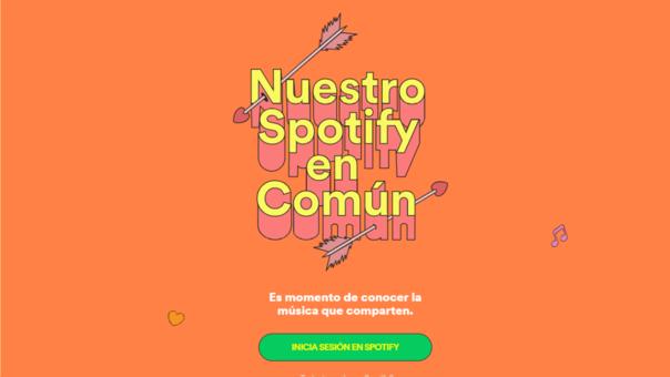Spotify extiende sus servicios para conocer la afinidad musical con tu pareja o amigos