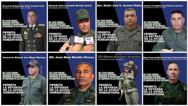 Venezuela Soldado Escucha La Campaña De Juan Guaidó