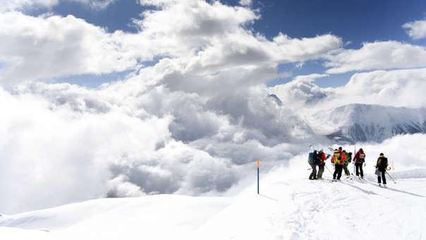 Suiza avalancha