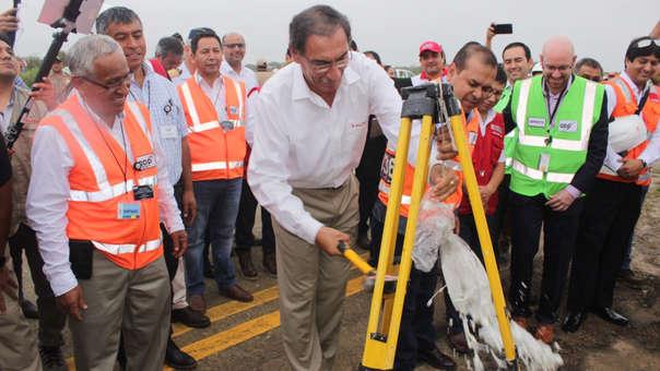 Inician obras en aeropuerto de Chiclayo