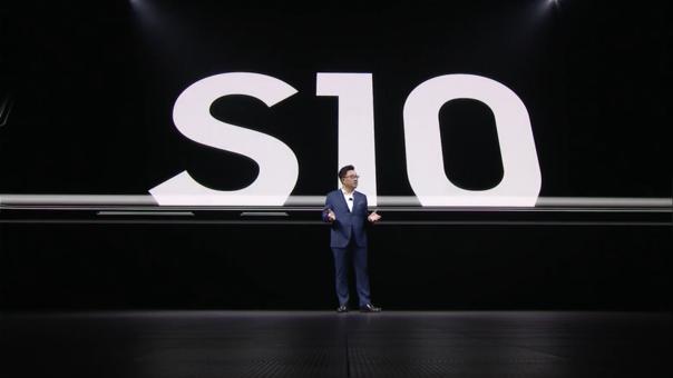 DJ Koh, CEO de Samsung presenta en San Francisco el nuevo modelo de S10