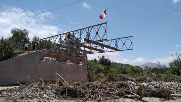 Puente temporal en Moquegua