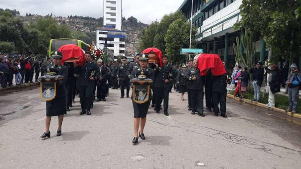 Policías y Fiscal fallecidos cuando viajaban a operativo.