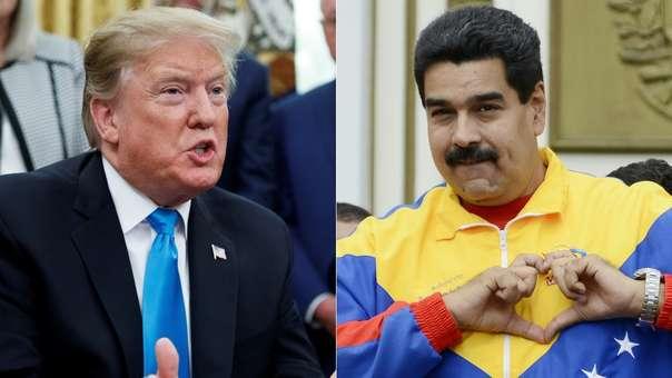 Representantes de Donald Trump y Nicolás Maduro se reunieron.