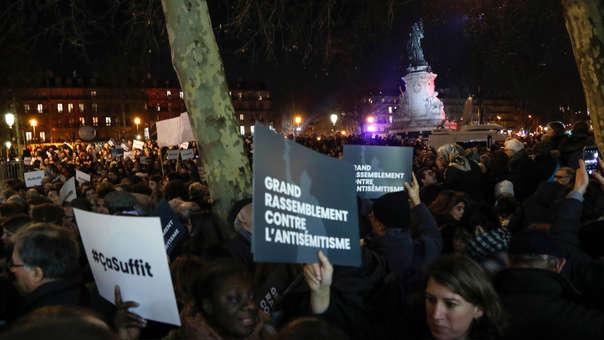 FRANCE-RELIGION-POLITICS-JUDAISM-RALLY-ANTI-SEMITISM