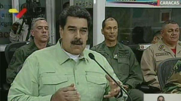Nicolás Maduro desde Caracas