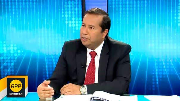 Michel Canta , fue superintendente adjunto de la SBS durante la gestión de Daniel Schydlowsky.