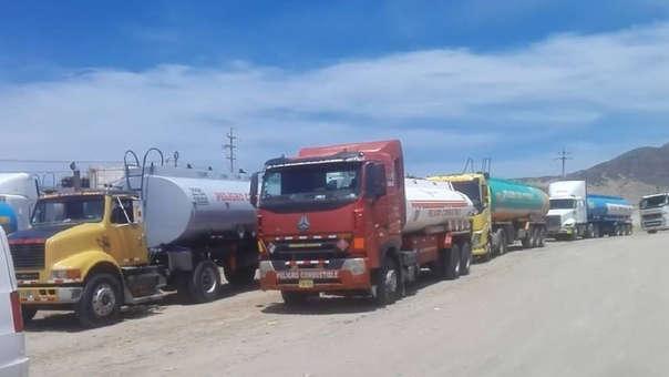 Paro de camioneros afecta traslado de arroz