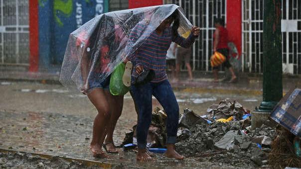 Intensas lluvias vienen azotando distintas zonas del país.