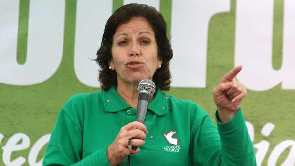 Lourdes Flores postuló a la presidencia en el 2006 y la alcaldía de Lima en el 2010.
