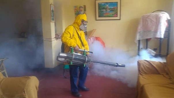 Personal de Salud realizó el ceco entomológico en Ferreñafe, pese a ello los casos aumentaron