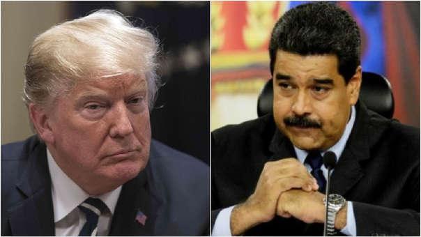 Donald Trump -Nicolás Maduro