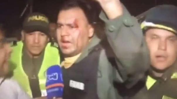 El efectivo de la Guardia Nacional que desertó alerta que la orden del régimen de Maduro es masacrar al pueblo, sacar a los colectivos y a los presos.