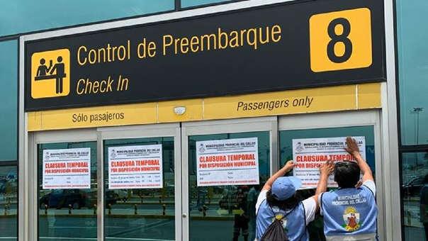 Según la concesionaria Lima Airport Partners, esta medida