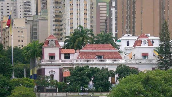 Palacio de Miraflores en Venezuela