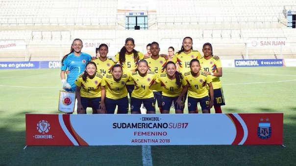 Equipo de la Selección femenina de fútbol de Colombia sub-17