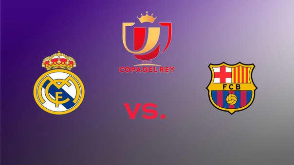 Ver En Vivo Real Madrid Vs Barcelona Hoy En Directo En Mexico Costa Rica Usa Panama Honduras Y Centroamerica Ver Partido Aqui Copa Del Rey 2019 Rpp Noticias