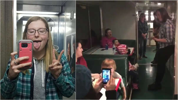 Los pasajeros compartieron detalles de la inconveniencia.