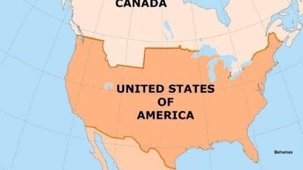 Así quedarían Canadá y EE.UU. tras esta venta