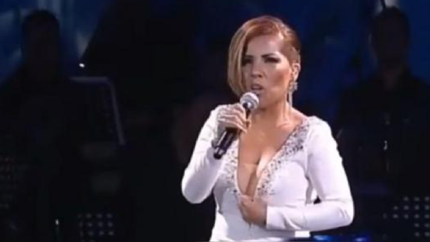 La cantante peruana Susan Ochoa conquistó Chile