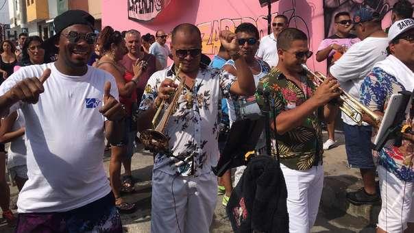 Miembros de la orquesta Zaperoko fueron denunciados.