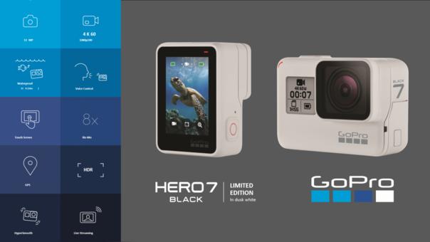 GoPro: Lanzamiento globa de Hero 7 Dusk White, precio y