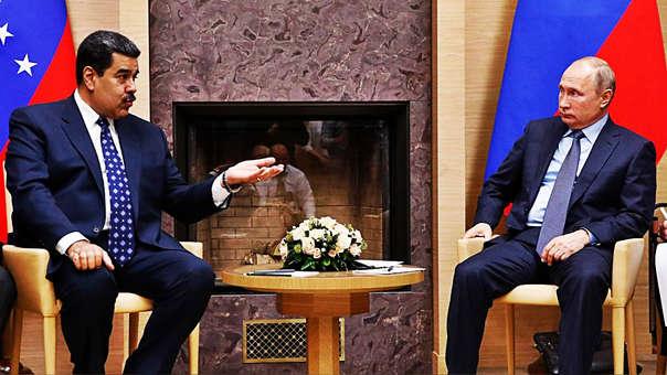 Nicolás Maduro y Vladímir Putin