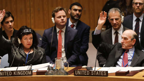 US-UNITED-NATIONS-SECURITY-COUNCIL-MEETS-ON-VENEZUELA