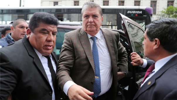 Alan García es investigado por el fiscal José Domingo Pérez