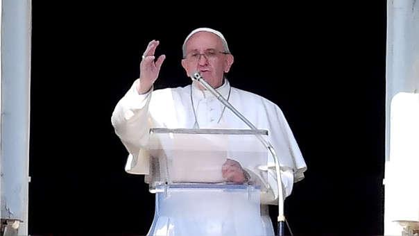 El papa argentino aseguró que