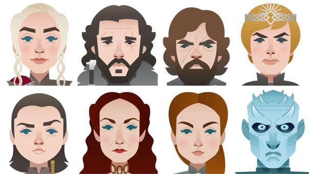 Los personajes de Game of Thrones tienen sus emojis en Twitter.