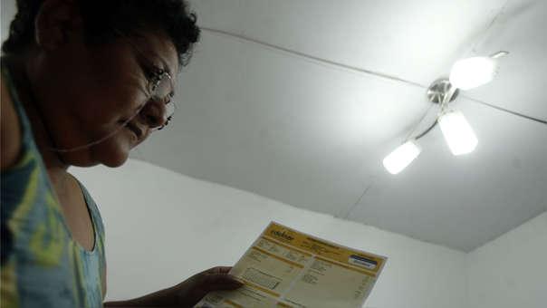 Reducción de la tarifa eléctrica en marzo no será ni de S/0.20.