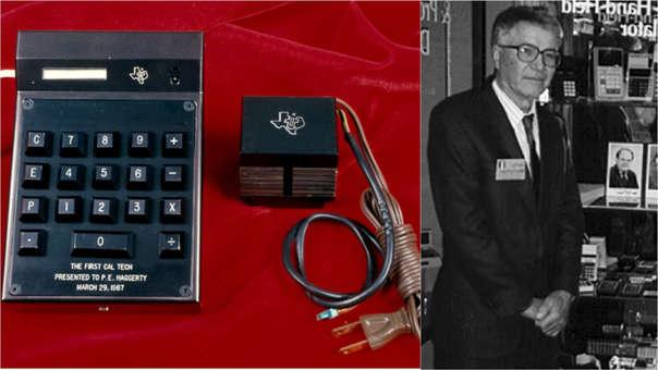 La calculadora presentada en marzo de 1967 es conservada por el Instituto Smithsoniano.