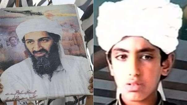 Osama bin Laden no volvió a ver a su hijo Hamza desde el atentado del 11 de septiembre, pero se escribieron cartas.