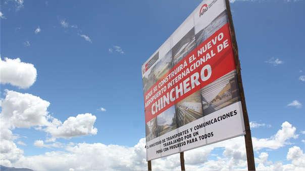 El Aeropuerto de Chinchero fue concesionado en abril del 2014.