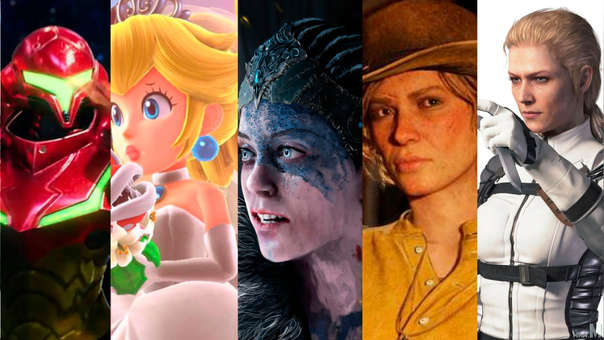 Estos personajes femeninos lograron grandes cosas en el mundo de los videojuegos.