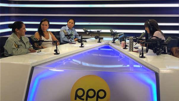 Solsol y Ríos estuvieron acompañadas de la congresista Marisa Glave.