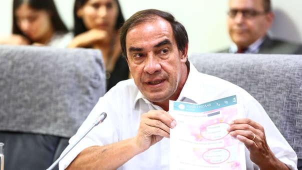 El pasado martes, la Comisión de Ética Parlamentaria acordó investigar al congresista Yonhy Lescano por el supuesto caso de acoso sexual a una periodista.