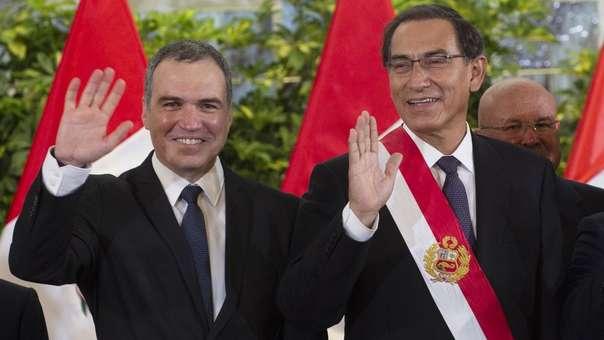 Salvador del Solar y Martín Vizcarra
