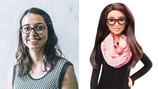 Barbie presentó su colección de modelos a seguir.