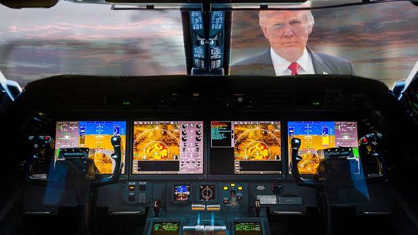 Trump hizo comentarios tras el segundo accidente de un Boeing 737 MAX 8 en menos de seis meses.