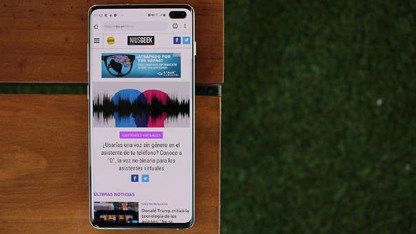 El Galaxy S10+ es la apuesta de Samsung para la primera mitad del 2019.