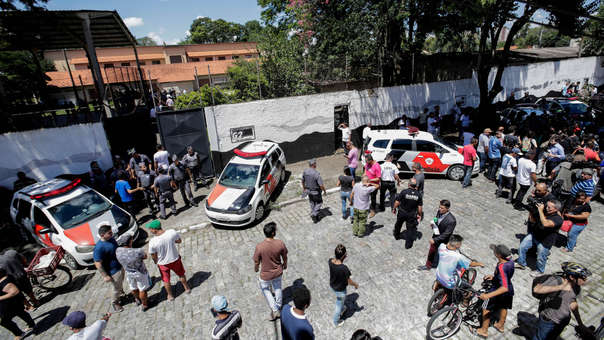 Resultado de imagen para brasil tiroteo