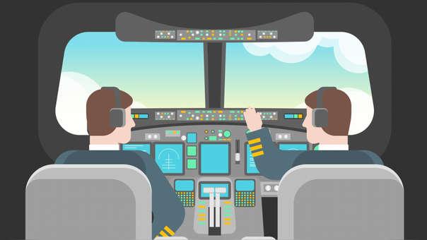 La tecnología en la cabina de los aviones ha cambiado con el paso de los años.