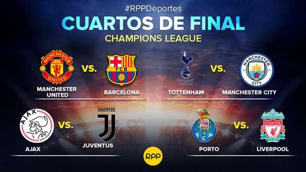 Champions League: así quedaron las llaves de los cuartos de final de ...