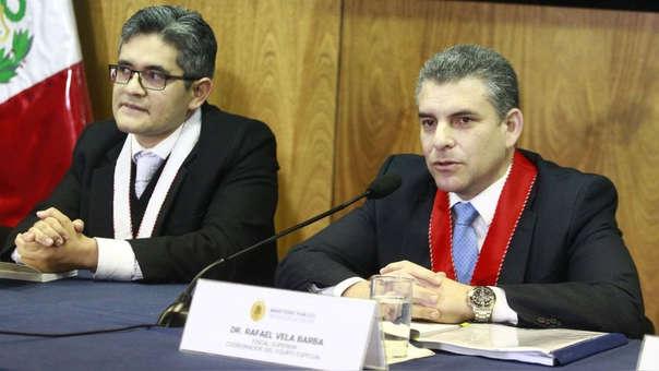 Rafael Vela, coordinador del equipo del caso Lava Jato