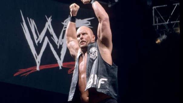 Stone Cold Steve Austin, el desvergonzado héroe de la WWE.